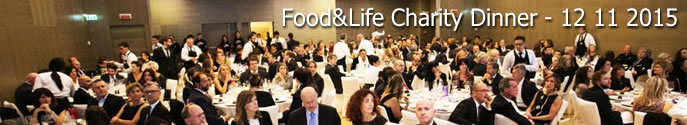 Food&Life Charity Dinner - 12 11 2015
